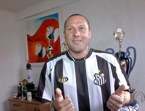 Rodrigo Gral com a camisa do Operário-MS
