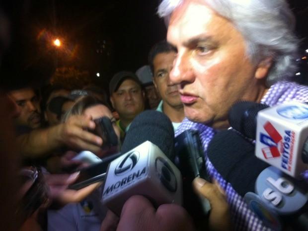 Delcídio do Amaral vai para 2º turnos (Foto: Gabriela Pavão/ G1MS)