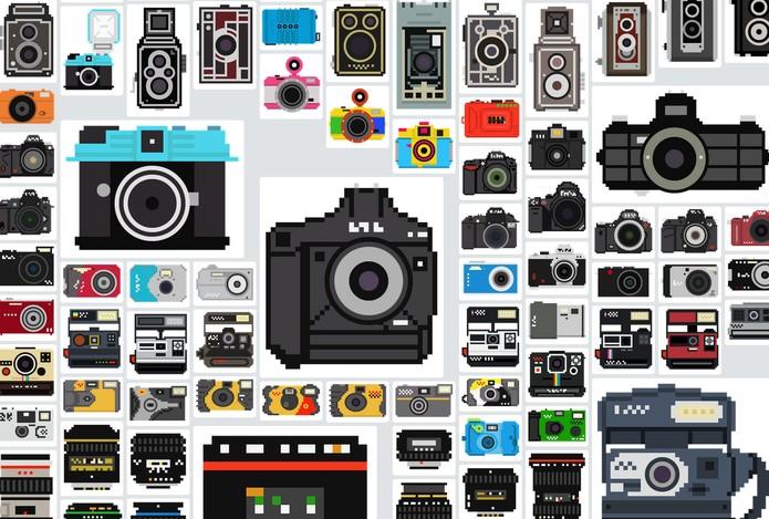 Os principais tipos de câmeras são as compactas, superzoom, DSLR, mirrorles e câmeras de ação (Foto: Reprodução/Billy Brown)