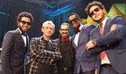 Serial Funkers mostra groove no palco (Marcinho Bertolone/ Divulgação)