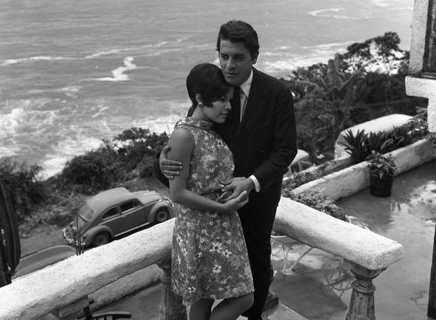 Rio de Janeiro (RJ) 05/12/1967 - Elis Regina (Cantora) - Elis Regina e Ronaldo B (Foto: Nelson Kon/Divulgação)