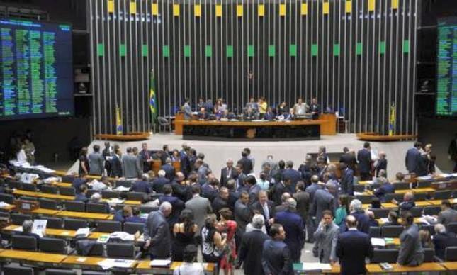 Sessão da Câmara dos Deputados  (Foto: JBatista / Câmara dos Deputados / VEJA)
