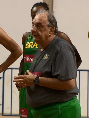 Antonio Carlos Barbosa, técnico da seleção brasileira feminina de basquete (Foto: Reprodução EPTV)