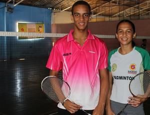 Francielton Farias e Gabriela Cavalcante (Foto: Josiel Martins )