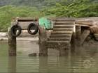 Moradores de Paraty, RJ, sofrem com falta de conservação de cais
