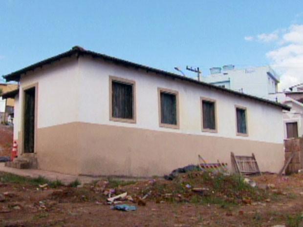 Casa do Pelé fica pronta em Setembro (Foto: Reprodução EPTV)