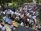 Grupos protestam em defesa de vaquejadas na Paraíba