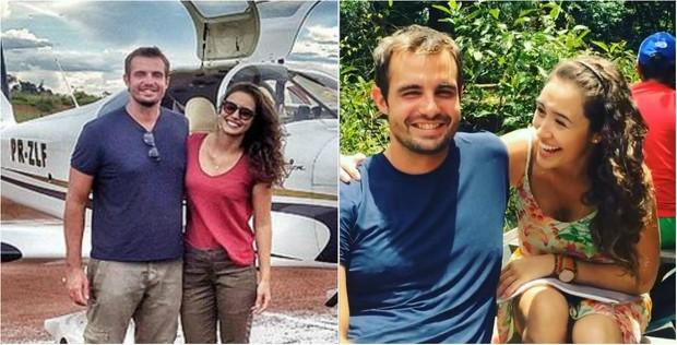 Max Fercondini e Amanda Richter chegam ao final da expedição Brasil afora com quilinhos extras (Foto: Reprodução do Instagram)