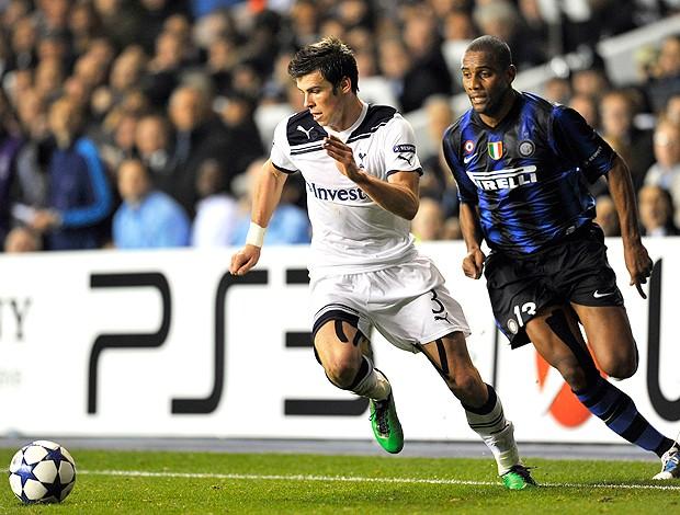 Gareth Bale Maicon (Foto: AFP)