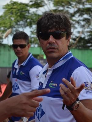 Ulisses Torres, técnico do Atlético Acreano (Foto: Nathacha Albuquerque)