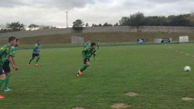 Gabigol, do Santos, na Seleção Brasileira Sub-17 (Foto: Marcus Vinicius Souza)