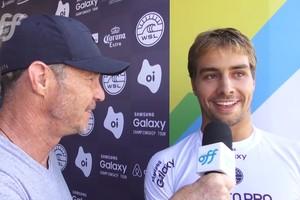 Lucas Silveira vence bateria contra Mineirinho na etapa do Rio