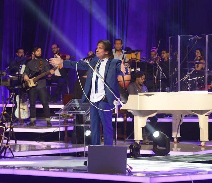 Banda internacional traz novos arranjos para clássicos do Rei (Foto: Ellen Soares/Gshow)