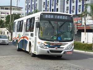 Duas linhas de ônibus foram canceladas (Foto: Renata Cristiane)