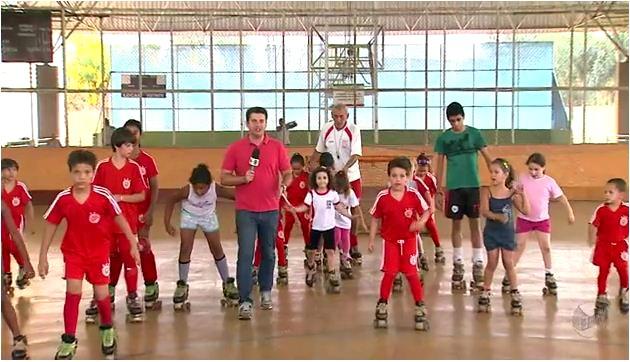 Série mostra os principais esportes praticados na região de Ribeirão (Foto: Reprodução EPTV)