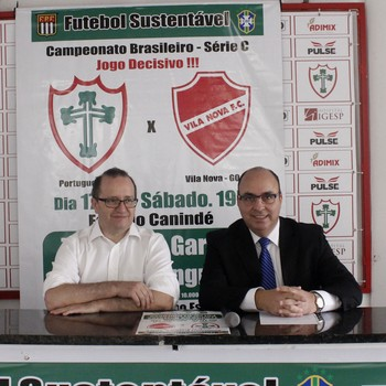 Portuguesa Edivaldo Ferraz Jorge Gonçalves (Foto: Portuguesa/Divulgação)