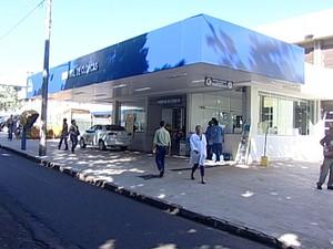 Hospital Beneficência Portuguesa Partos Uberaba (Foto: Reprodução / TV Integração)