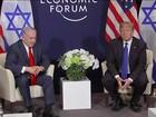 Donald Trump desembarca em Davos para o Fórum Econômico Mundial