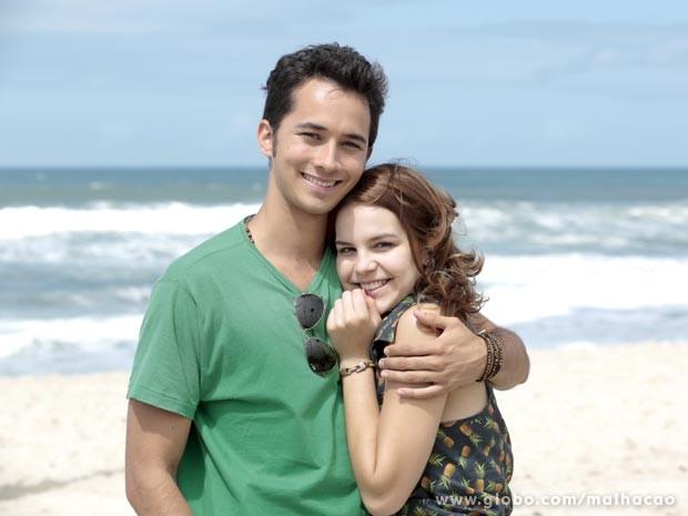 Bianca Salgueiro e Gabriel Falcão  (Foto: Malhação / TV Globo)