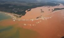 FOTOS: drone mostra o Rio Doce antes e depois da lama (Fred Loureiro/ Secom-ES)