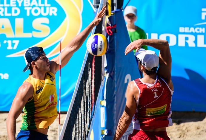Saymon World Tour Finals vôlei de praia (Foto: Divulgação/FIVB)
