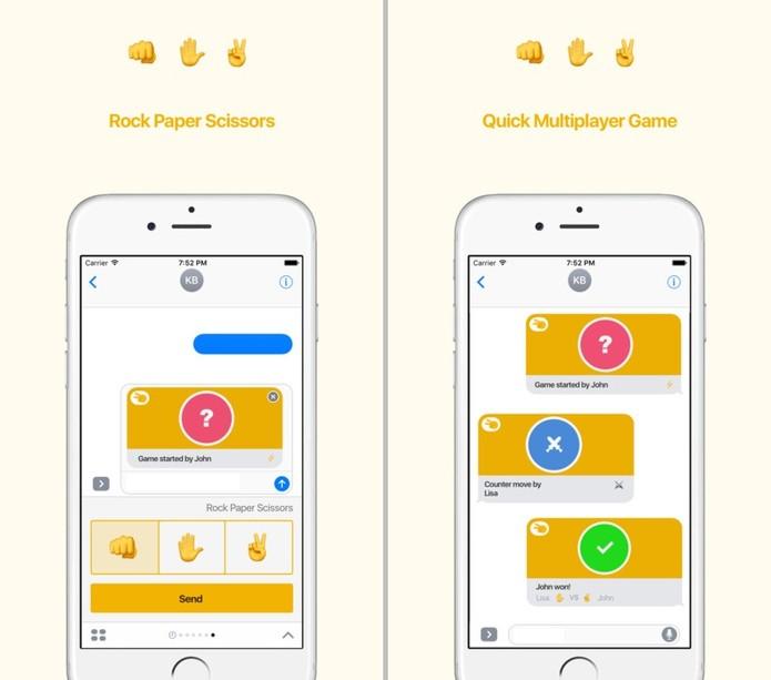 Às vezes o melhor jeito de resolver uma discussão é no joquempô (Reprodução/App Store)
