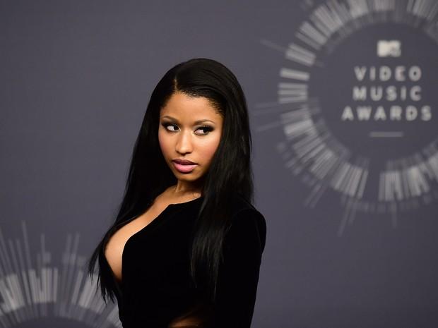 Nicki Minaj no VMA em Los Angeles, nos Estados Unidos (Foto: Frederic J. Brown/ AFP)