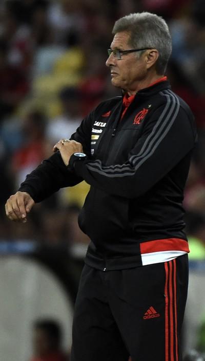 Oswaldo de Oliveira, Flamengo x Cruzeiro (Foto: André Durão)