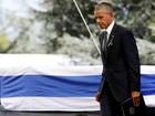 Líderes estrangeiros participam de cerimônia de funeral de Shimon Peres