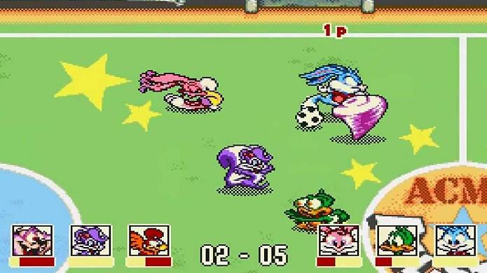 ACME All-Stars foi um dos primeiros jogos de esporte com loucuras na jogabilidade (Foto: Reprodução/YouTube)