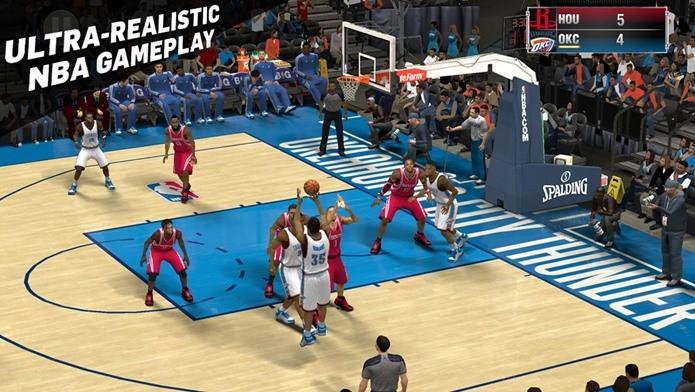 NBA2K15 tem gráficos incríveis e movimentação realista (Foto: Divulgação)
