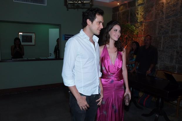 Sérgio Guizé e Nathalia Dill (Foto: Marcello Sá Barretto/AgNews )