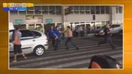 Taxistas e motoristas de turismo entram em conflito no aeroporto de Florianópolis