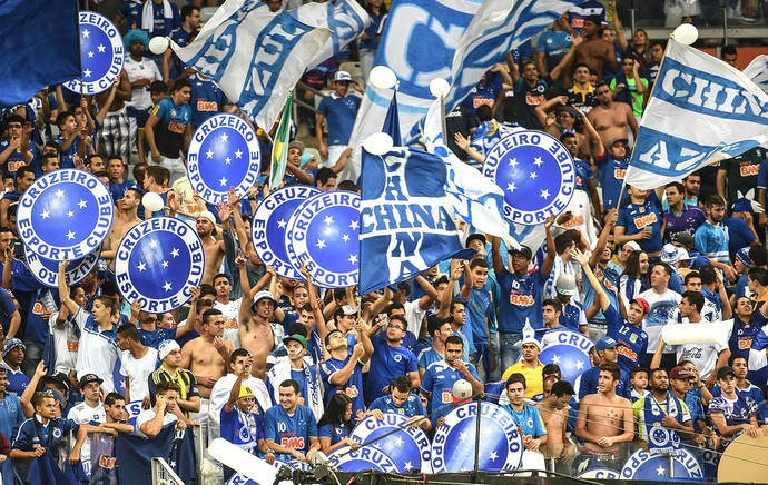 Torcida Cruzeiro X Atlético-mg (Foto: Gustavo Andrade)