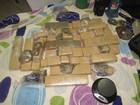 Grupo é preso com 17kg de maconha e materiais para roubo a banco, diz PM