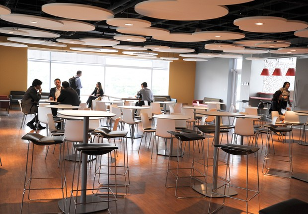 Prédio da Oracle em SP: preocupação com a colaboração entre funcionários (Foto: Divulgação)