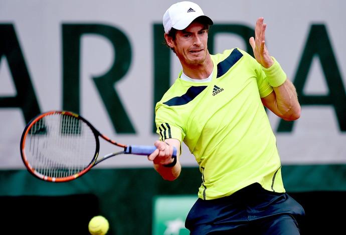 Andy Murray tênis em Roland Garros (Foto: Getty Images)