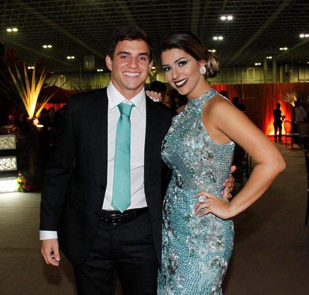 Manoel e Vivian (Foto: MARCOS FERREIRA/ Brazil News)