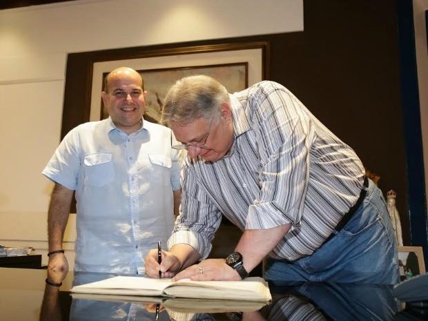 Moroni assume a prefeitura de Fortaleza interinamente durante viagem de Roberto Cláudio (Foto: Prefeitura de Fortaleza/Divulgação)