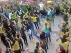 Manifestantes declaram apoio à Lava Jato em ato em Fortaleza