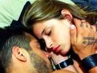 Namorada de Yuri posta foto com o ex-BBB dormindo