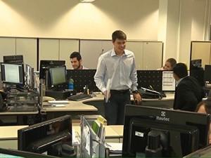 Sala de emprego estágio_jh (Foto: TV Globo)