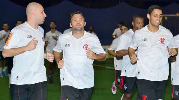 Petkovic treinou com o elenco e estreia nesta terça-feira (Foto: Joaquim Azevedo/JornalF7)