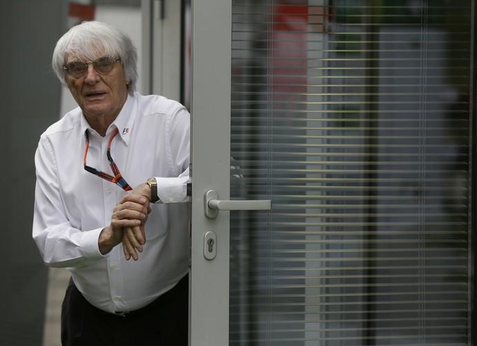 Bernie Ecclestone no GP da Rússia (Foto: AP)