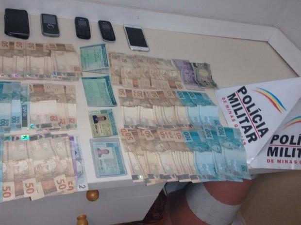 Polícia prende quatro em flagrante por receptação em Uberlândia (Foto: Divulgação/Polícia Militar)