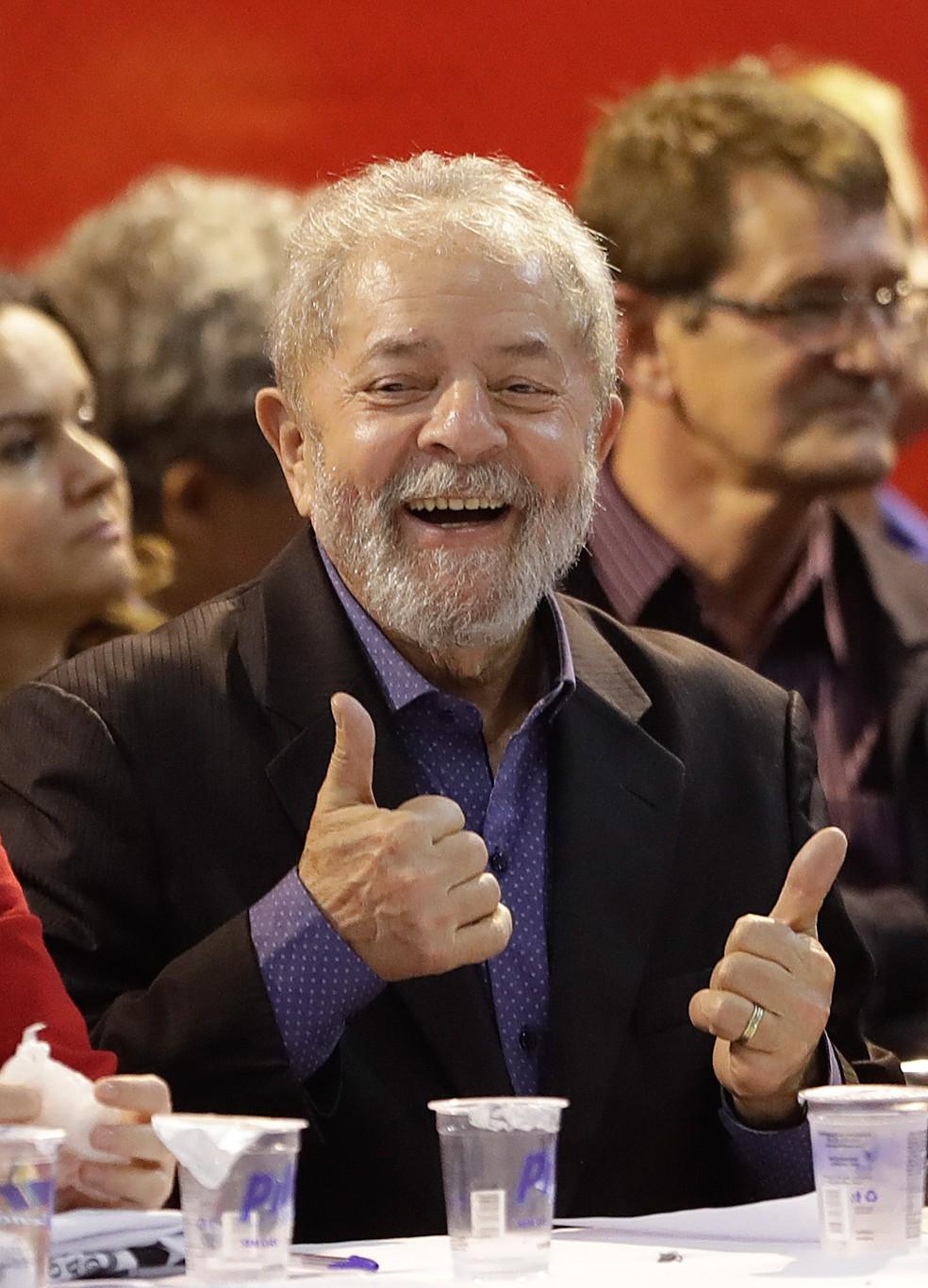 Ex-presidente Luiz Inácio Lula da Silva é um dos réus desta ação penal (Foto: André Penner/AP)