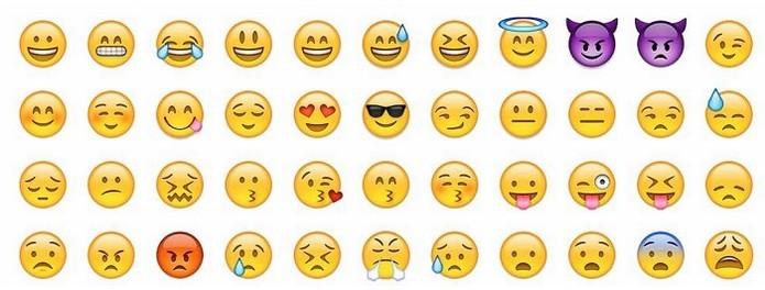 Usados para expressar emoções emojis chegaram ao instagram esse ano