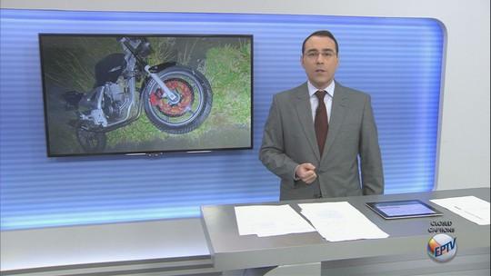 Motociclista morre ao bater em bicicleta e defensa metálica em rodovia de Batatais