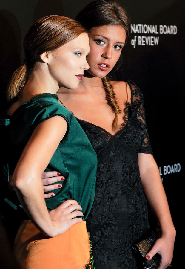 Lea seydoux and adele exarchopoulos in hot lesbian scene - 1 part 7