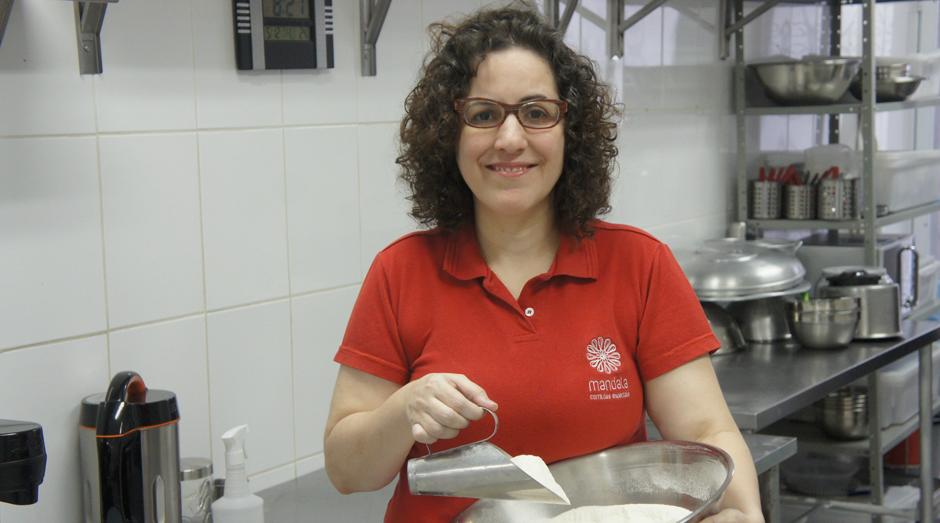 Adriana Fernandes, do Mandala - Comidas Especiais (Foto: Divulgação)
